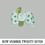 Bow Number Twenty Seven