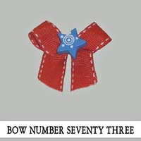 Bow Number Seventy Three