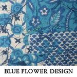 Blue Flower Design