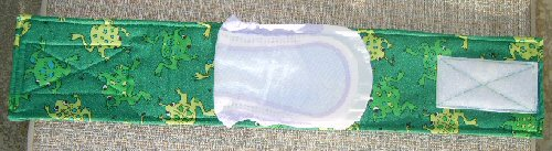 911 Belly Band with 1/2 poise pad