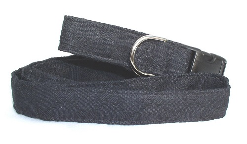 Black Gucci Fabric collar and leash