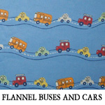Flannel Buses and Cars