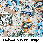 Dalmations on Beige