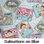 Dalmations on Blue