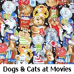 Dogs & Cats at Movies