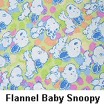 Flannel Baby Snoopy