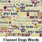 Flannel Dog Words