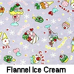 Flannel Ice Cream on Lavender