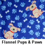 Flannel Pups & Paws