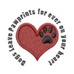 Dogs Leave Paw prints Forever on Your Heart