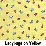 Ladybugs on Yellow