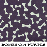 Bones on Purple