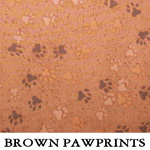 Brown Pawprints