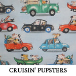 Cruisin' Pupsters..ONE Large