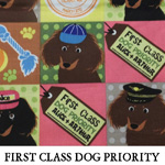 First Class Dog Priority