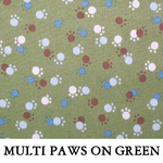 Multi Paws on Green