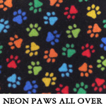 Neon Paws All Over