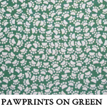 Pawprints on Green