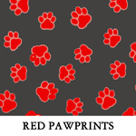 Red Pawprints
