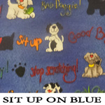 Sit Up On Blue