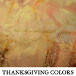 Thanksgiving Colors