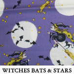 Witches Bats & Stars