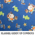 Flannel Giddy Up Cowboys
