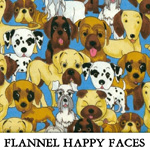 Flannel Happy Faces