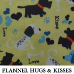 Flannel Hugs and Kisses