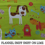 Flannel Sniff Sniff on Limes