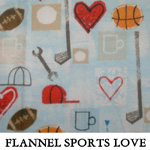 Flannel Sports Love