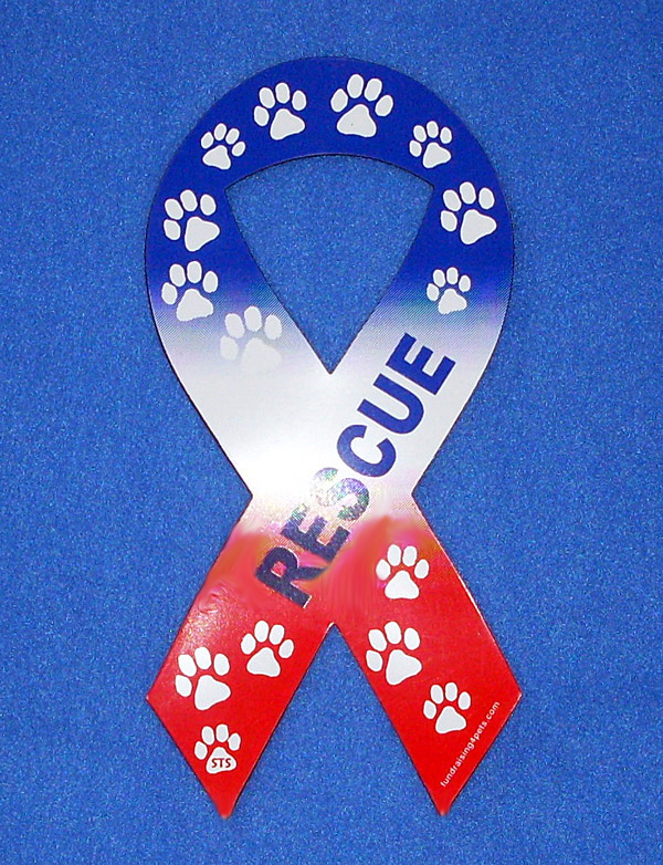 Red, White & Blue Rescue Ribbon