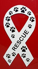 White Rescue Ribbon