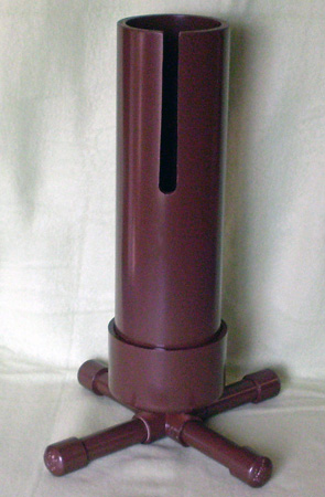$75 Expresso Brown 32 oz. water bottle stand