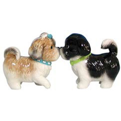 Shih Tzu Salt & Pepper Shakers